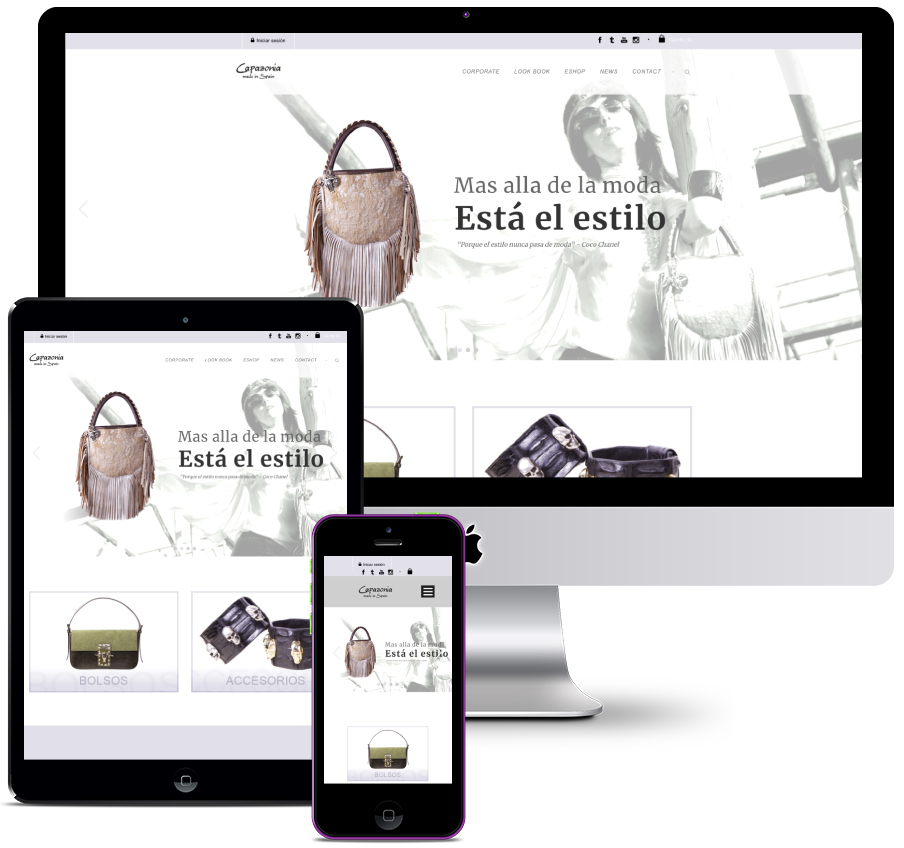 Online clothing and accessories store