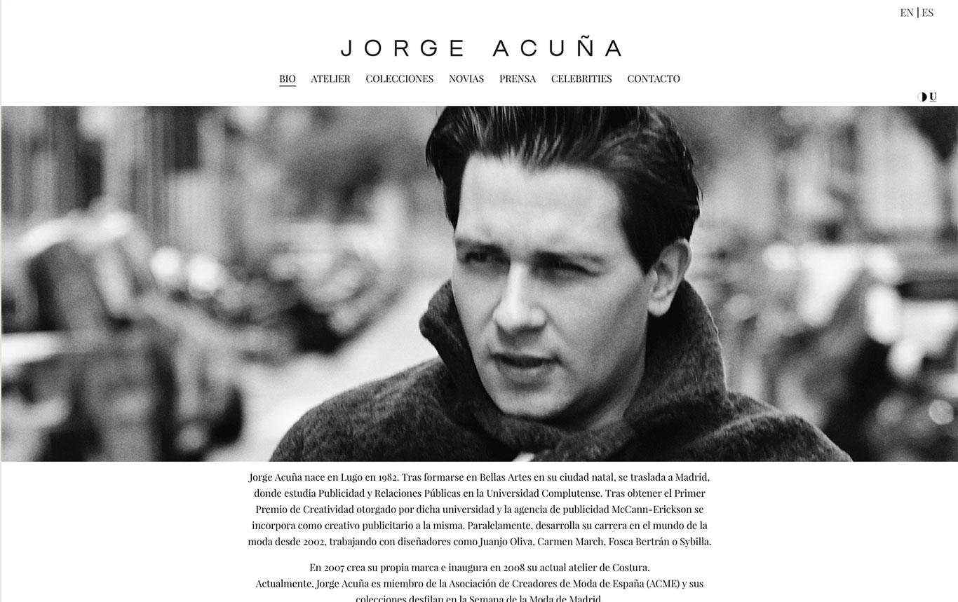 Jorge Acuña Web