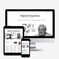 Web Miguel Ormaetxea