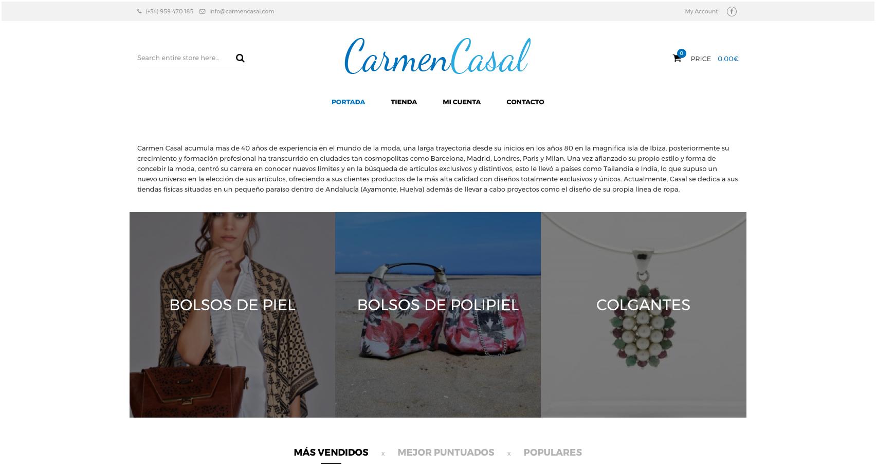 Carmen Casal web