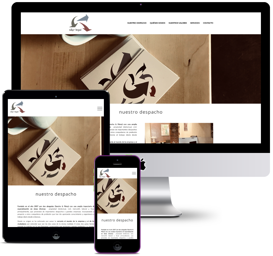 Web for Legal Firm