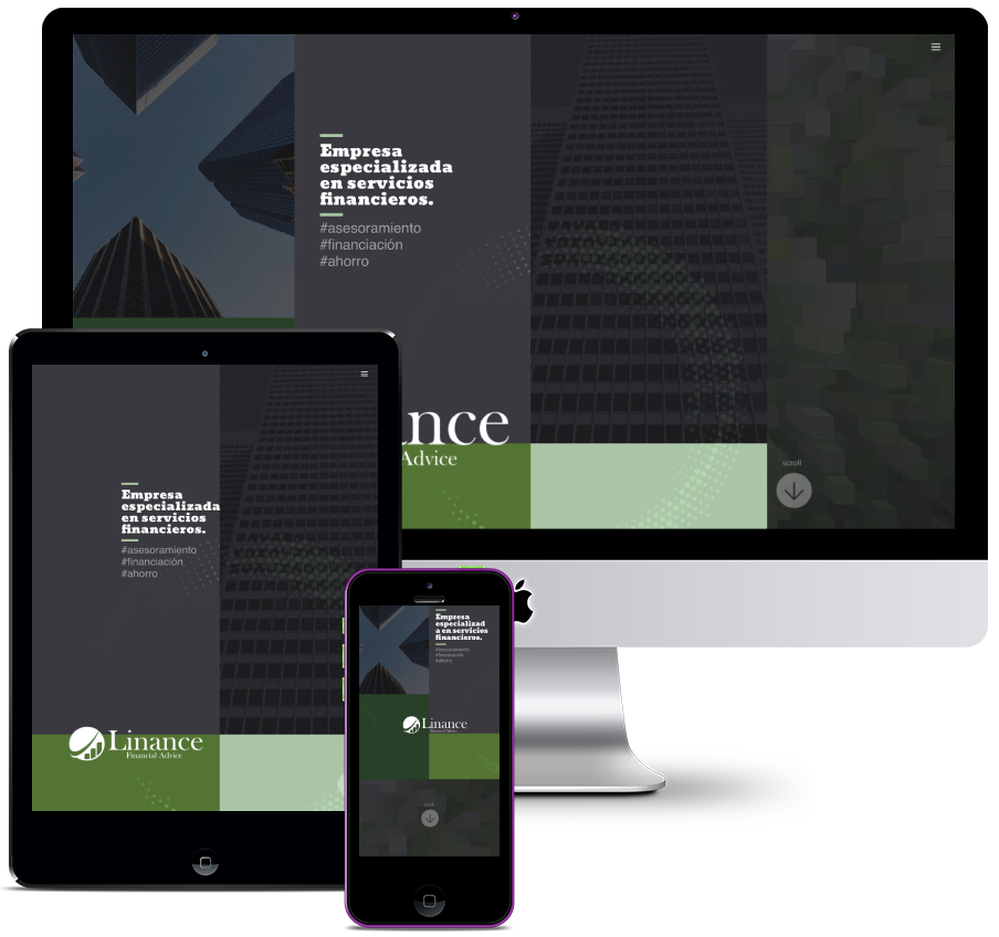 Web for a Financial Services Company